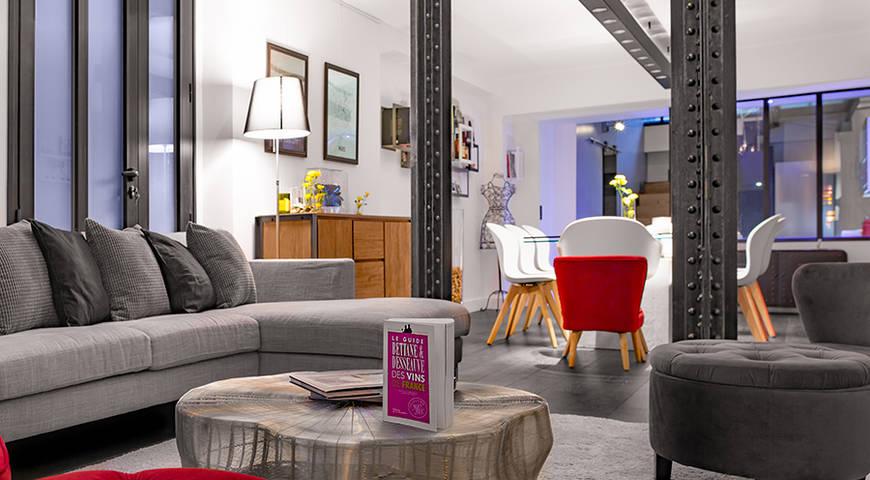 Location loft moderne paris louer un loft paris pour une soir e - Location loft soiree ...