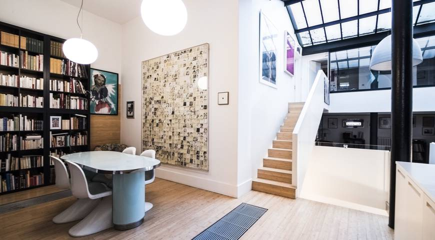 Location loft contemporain paris lieu atypique v nement - Appartement atypique paris location ...