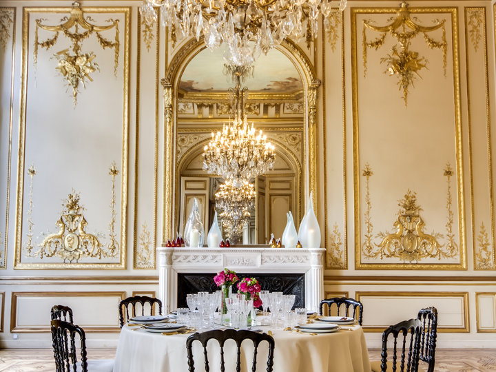 salle de réception chic à Paris