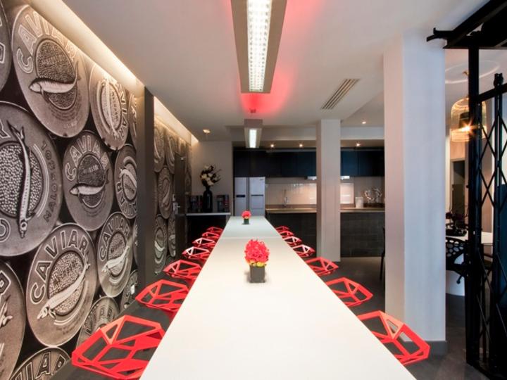 salle de réception design à Paris